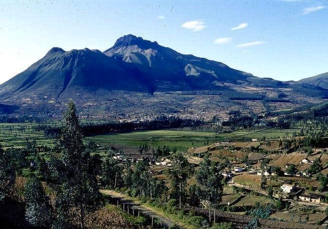 Imbabura from near hacienda...