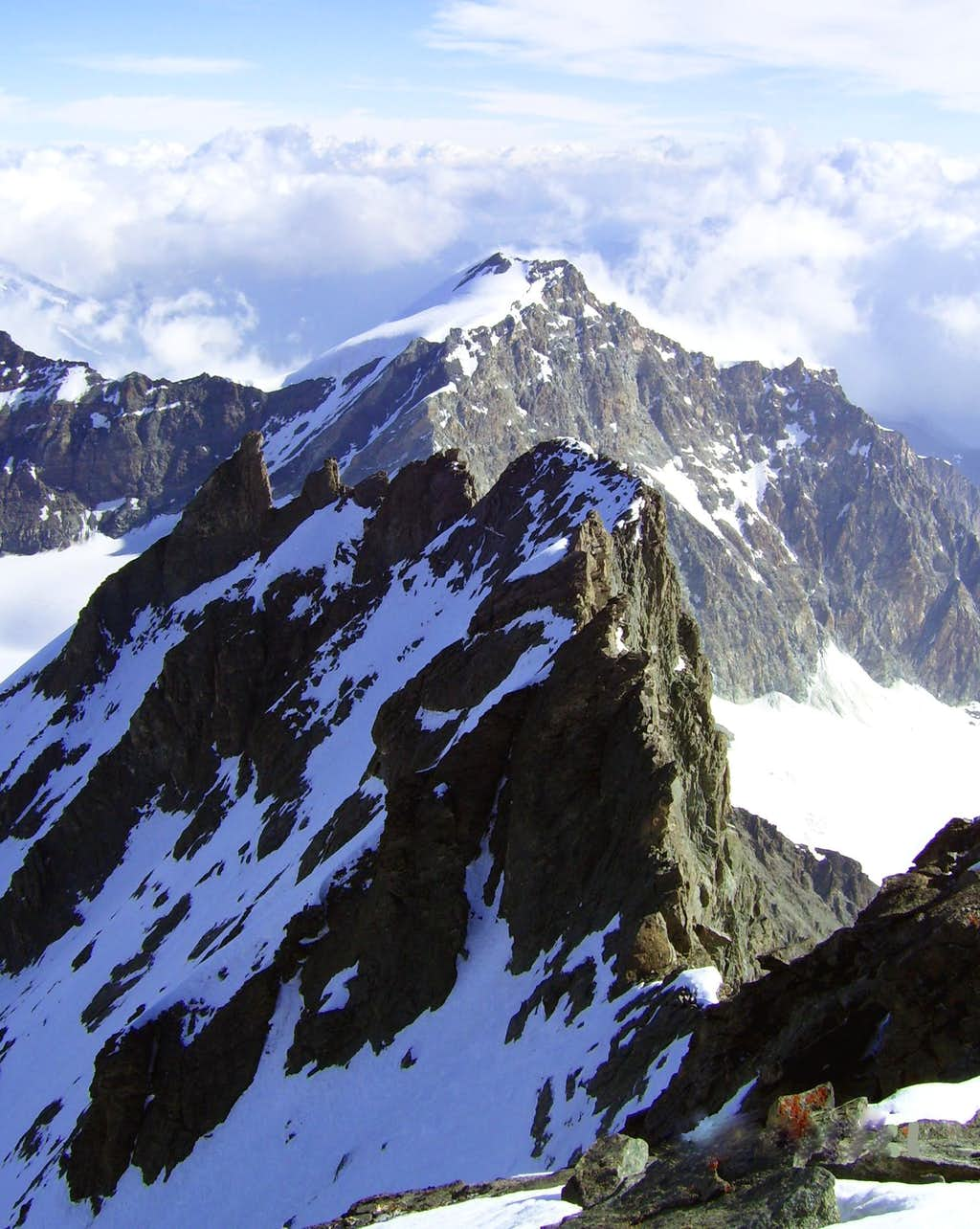 North Ridge of Rimpfischhorn