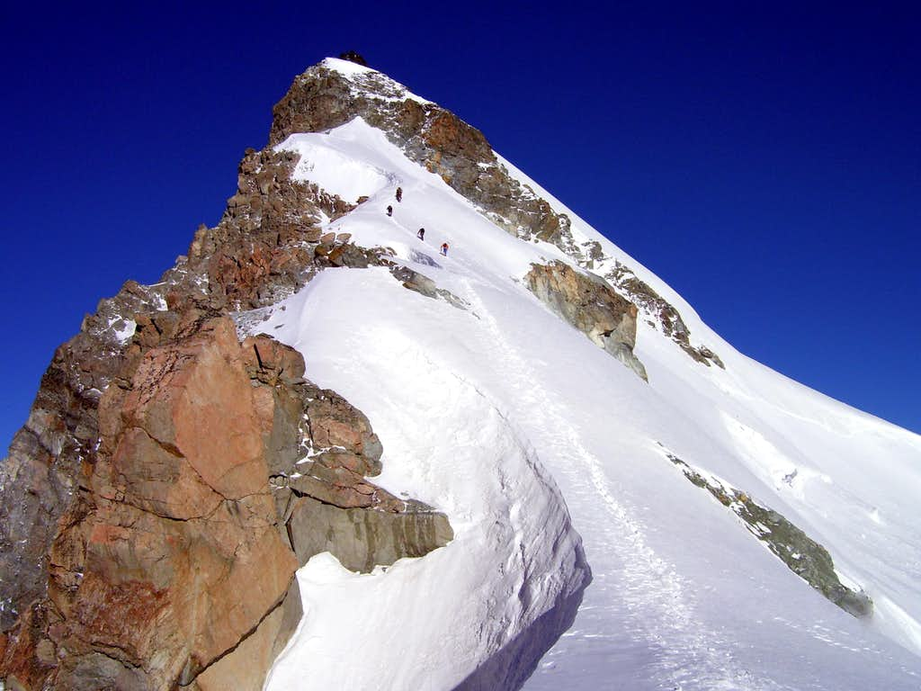Allalinhorn- Hohlaubgrat / East Ridge