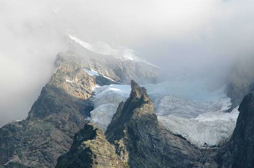 Tronchey glacier
