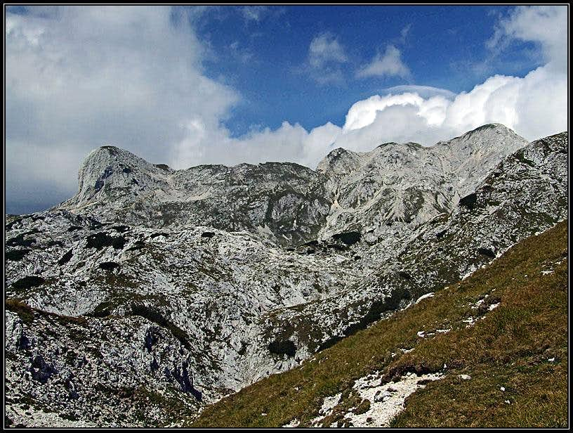 The ascent on Prvi Vogel
