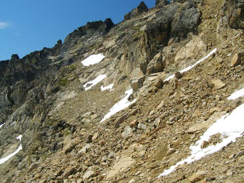 East side of the ridge