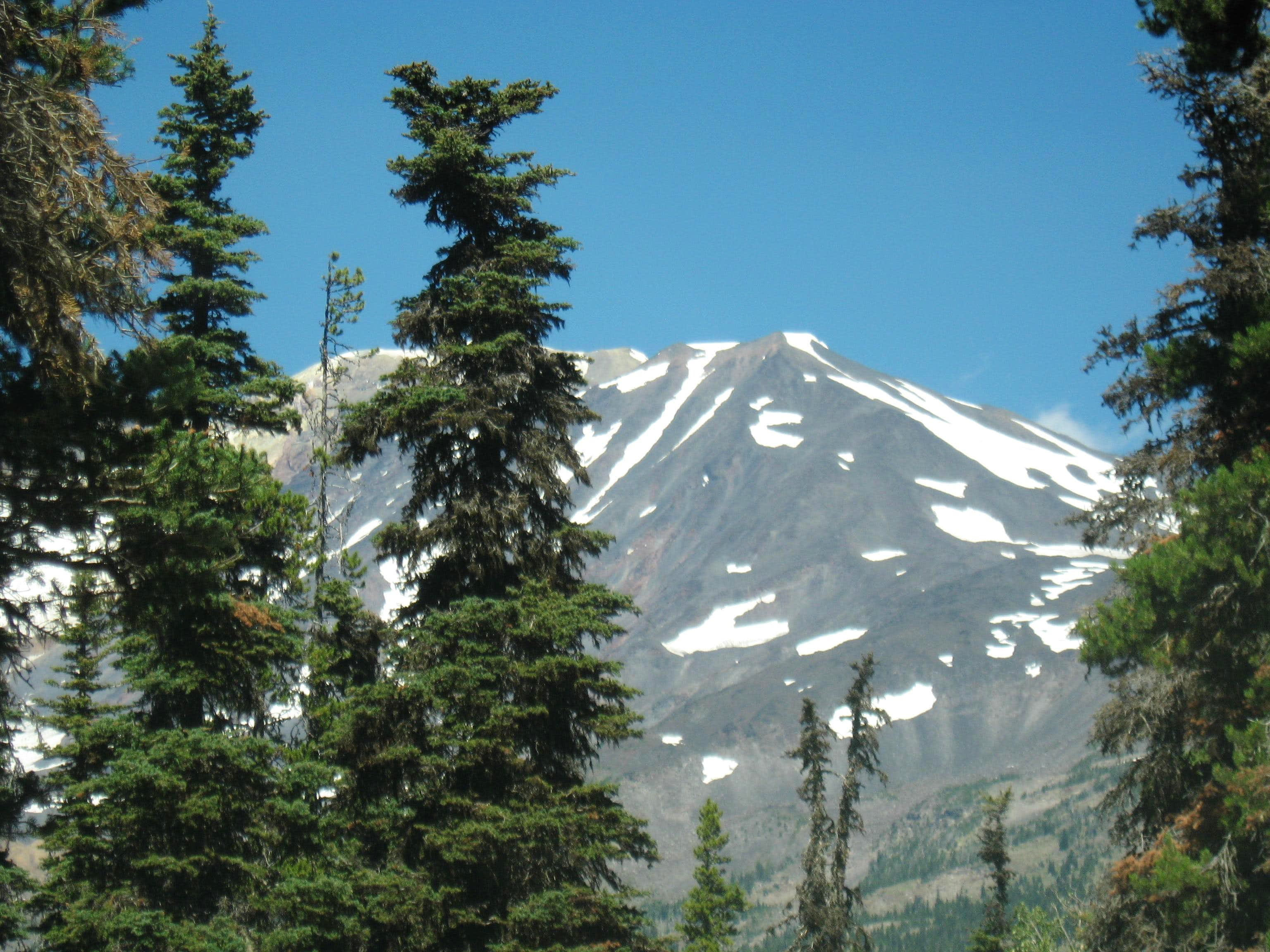 Mount Adams - south spur route