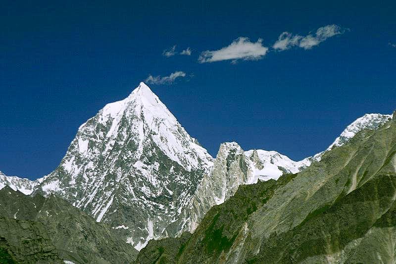 Soni Pokush, west slopes
