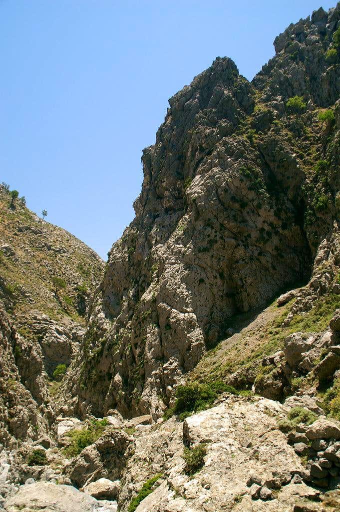 Kallikratiano Gorge