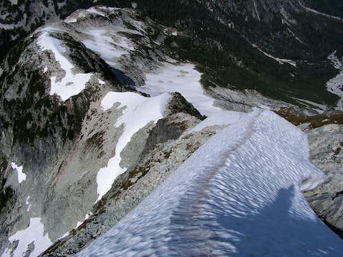 North Ridge descent