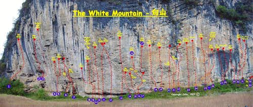 White Mountain Route Topo