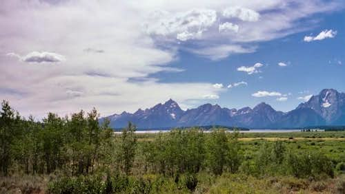 Grand Teton Landscape Aug. 2003