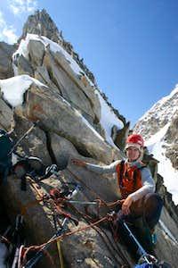 Peak 5772 m east ridge