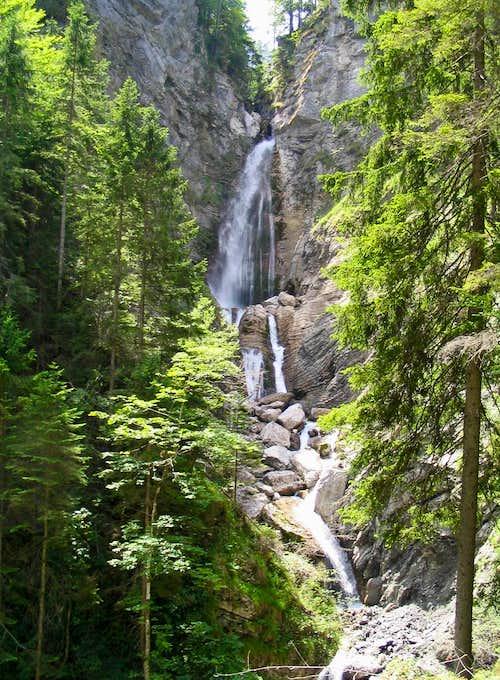 Martuljek waterfalls II