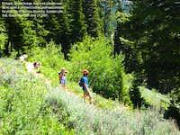 Grand Teton Surprise Lake Trail