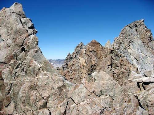 Summit Ridge of Polemonium Peak