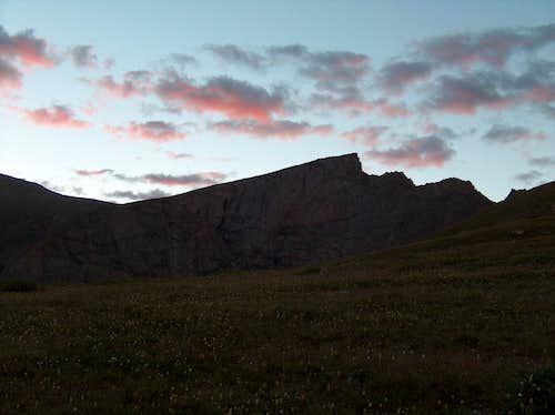 Sawtooth Sunrise