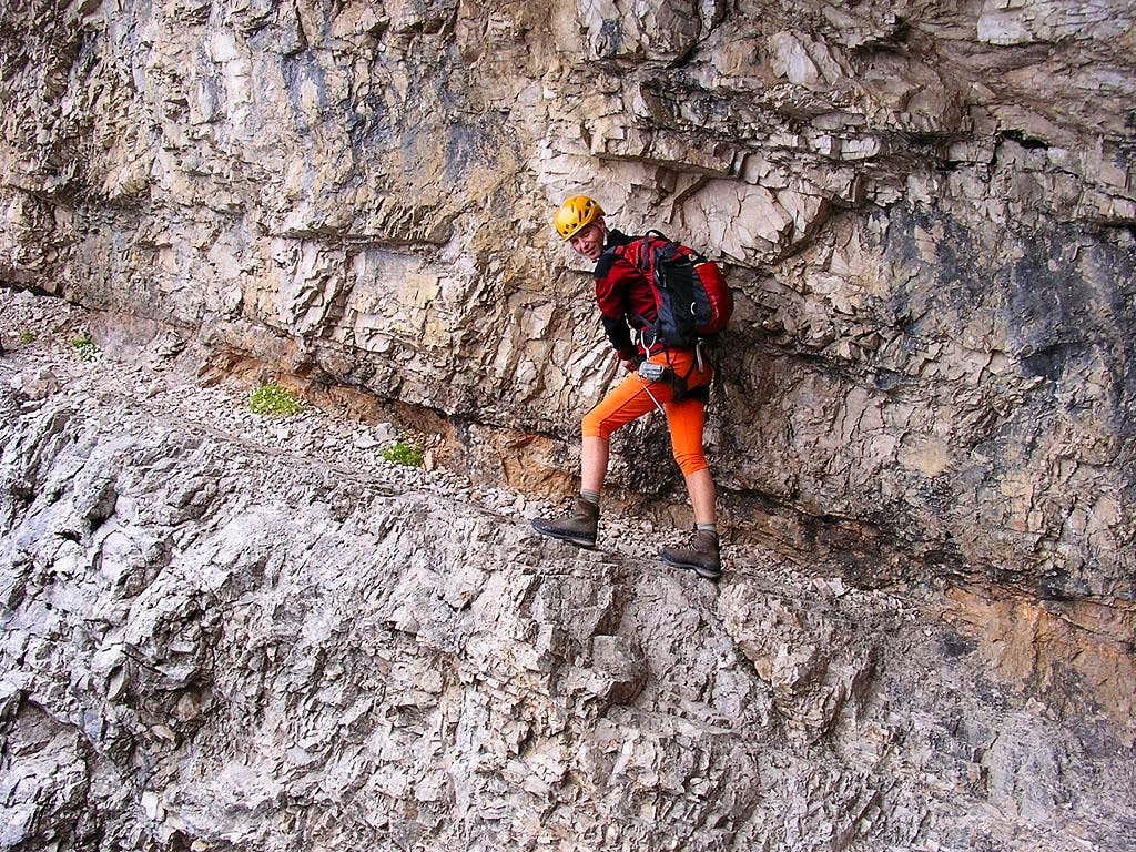 Monte Cristallo Normal Route