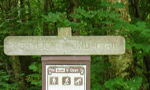 Skylight Trail Head (Blurred Slightly need to update)