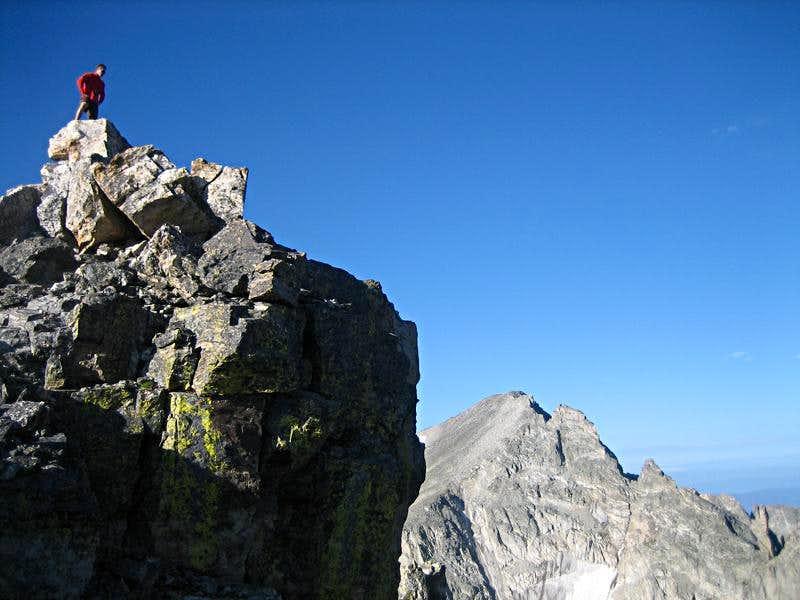 Apache Peak from the summit of Shoshoni