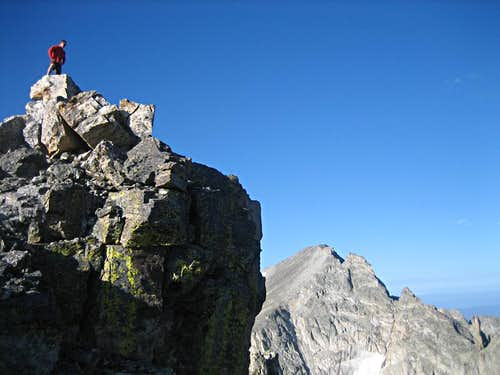 Apache Peak from the summit of Shoshoni