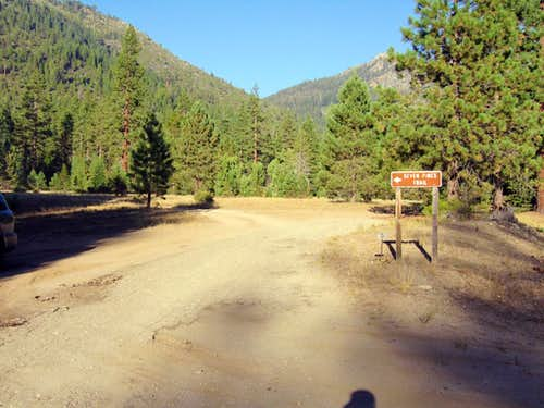 Seven Pines trailhead