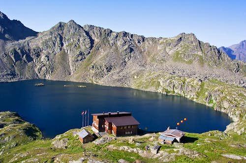 Wangenitzsee hut