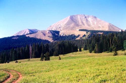 July 4, 2001 Mt. Mellenthin...