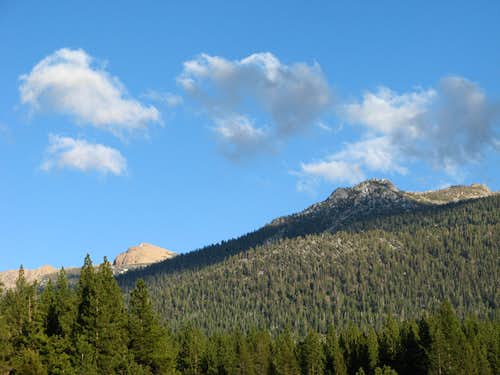 Job's Sister and Trimmer Peak, part of the Carson Range
