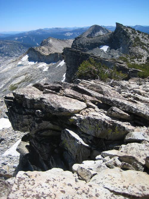Pyramid Peak and Aggasiz