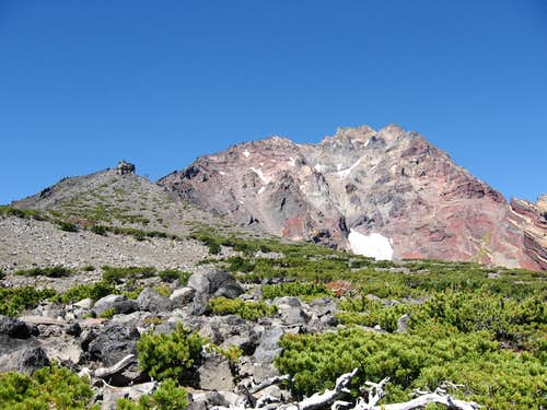 Start of the NE ridge