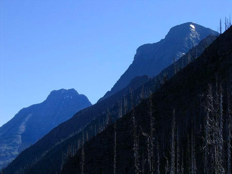 Looming Mount Vaught & Heavens Peak