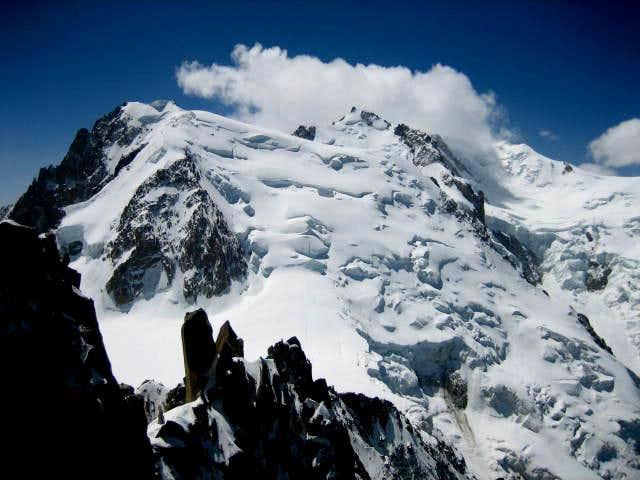 Mont Blanc du Tacul with the Pnte Lachenal(3613mm)