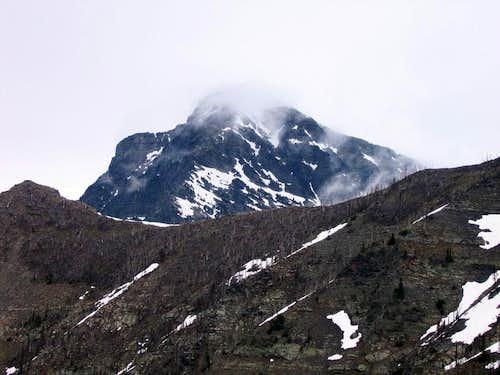 Ominous Mount Vaught...