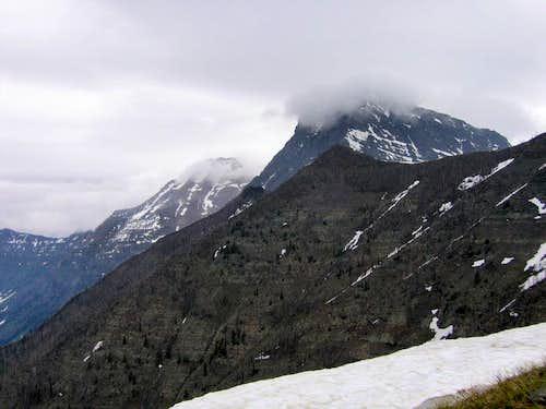 Heavens Peak, Mount Vaught