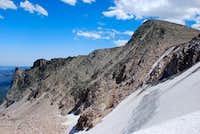 Hallett from Tyndall Glacier