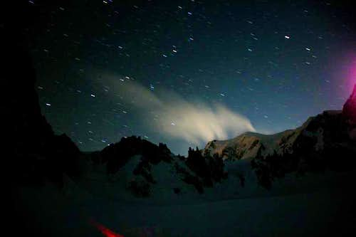 Mont Blanc(4810m) Night