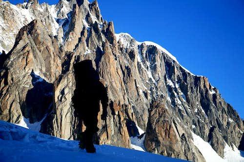 near by Pramide du Tacul(3468m)