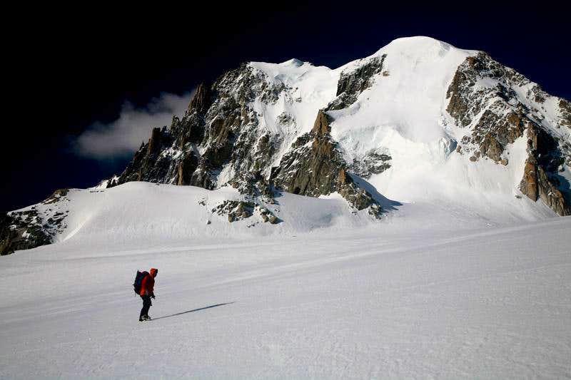 near Col du Midi(3532m)