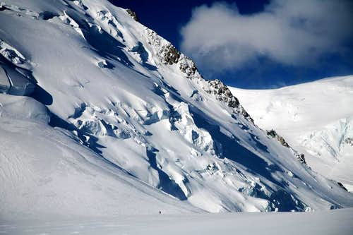 at the Col du Midi(3532m)
