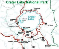 Crater Lake National Park Hiking Trails