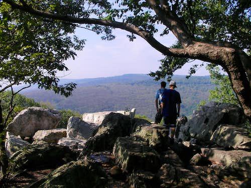 Approaching Chimney Rock