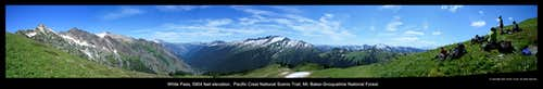 White Pass panorama