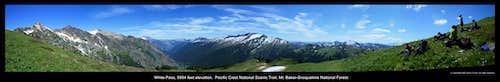 White Pass panorama