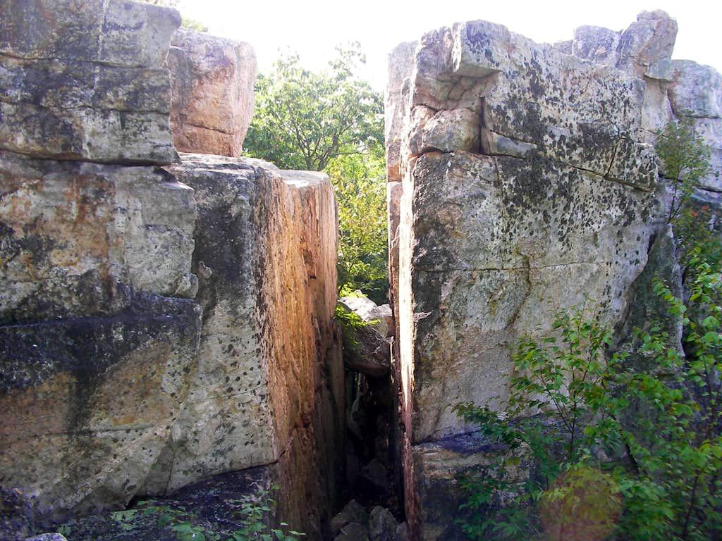 Chimney Rock Gap