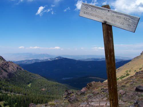 Saddle Sign