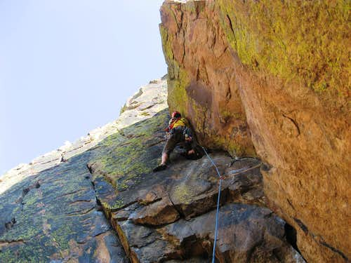 Steve on the Crux of Rover Variaton