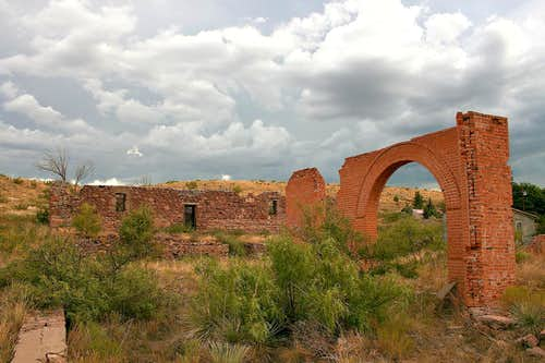Hillsboro, New Mexico ruins