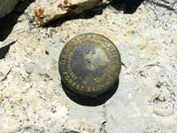 Cub Peak Summit Marker
