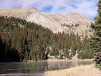 A frozen Heart Lake (11,500...