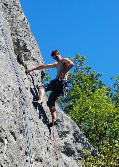Surgy cliff - La Muraillette