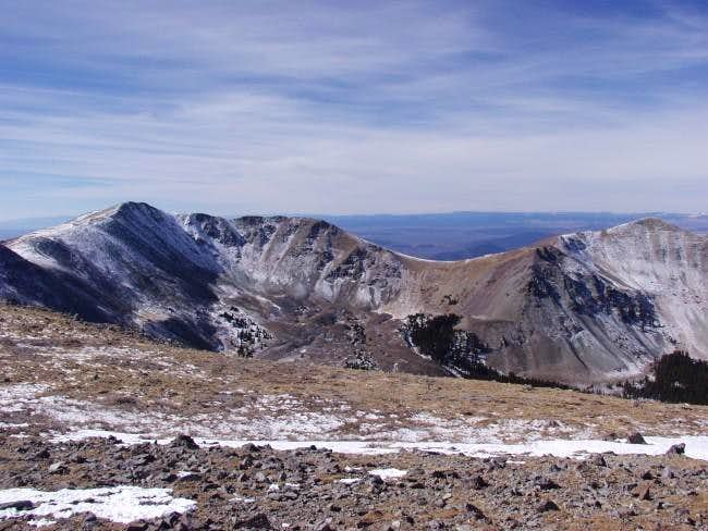 View of the Venado (12,734)...