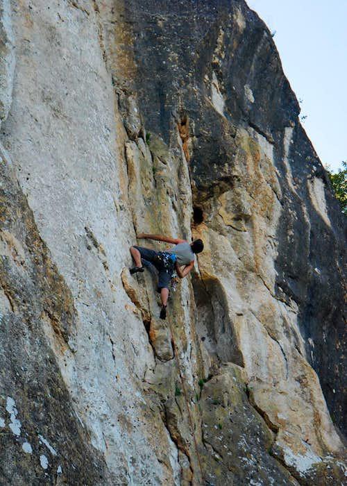 Surgy cliff - Grande Falaise