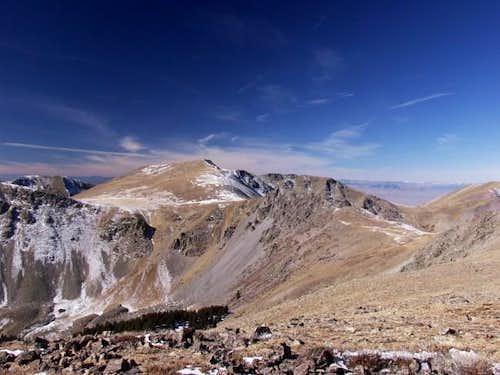Another one of Venado Peak,...